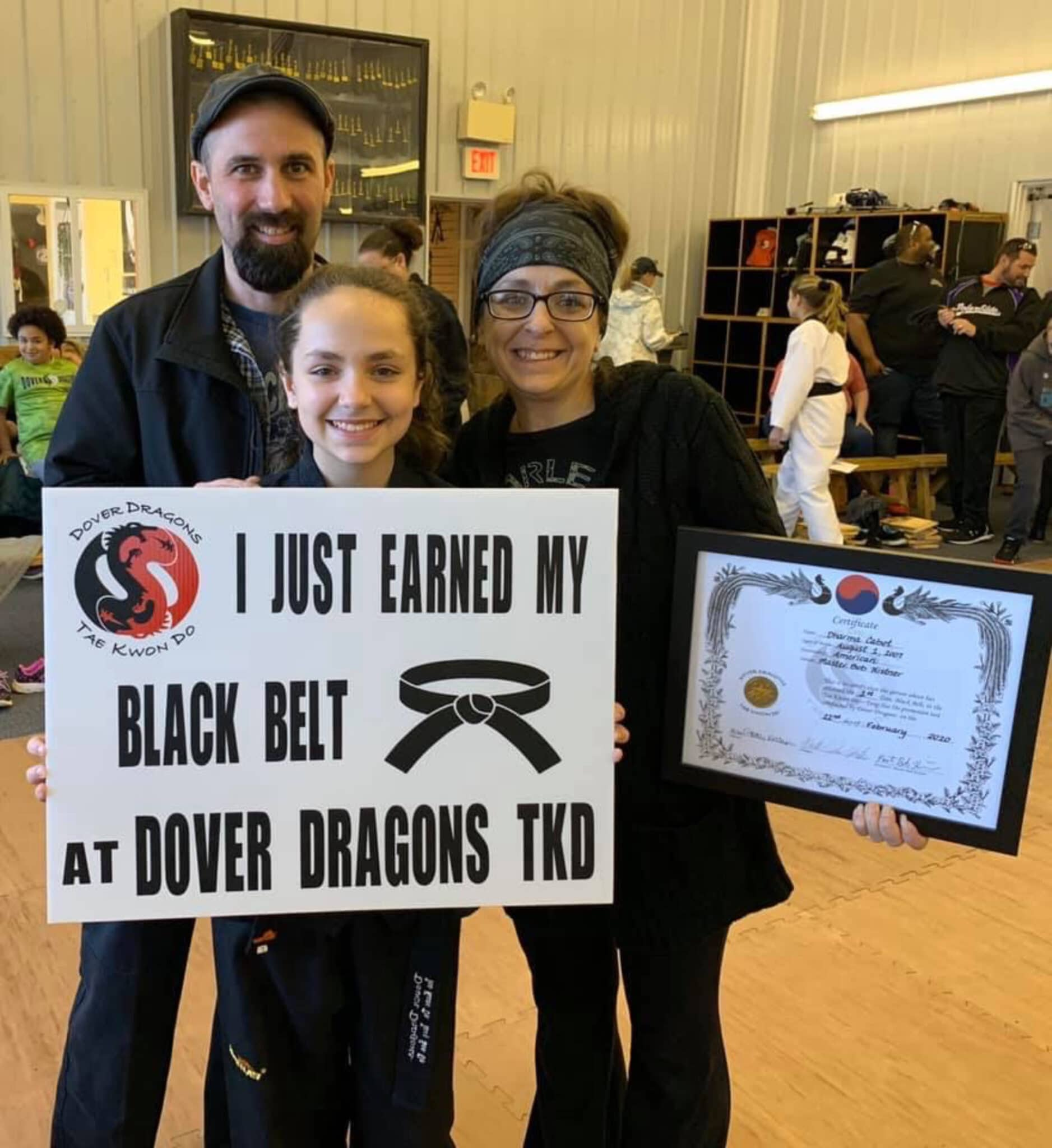 Dover Dragons Tae Kwon Do About Us image